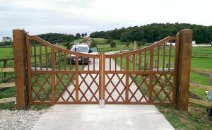 Wooden Gates (2)